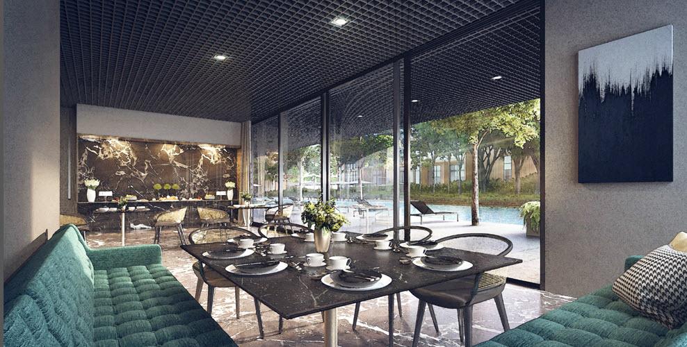 Martin Modern Guocoland Clubhouse Interior