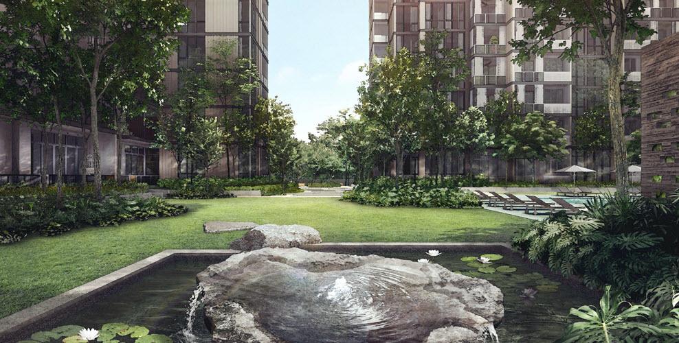 Martin Modern Guocoland Garden Lawn