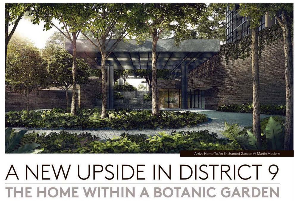 Martin Modern Home with a Botanic Garden